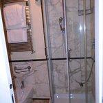 Bathroom in double room (room 104)