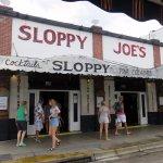 the front of Sloppy Joe's Bar