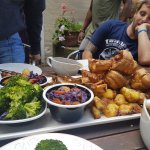 Sunday lunch sharing platter