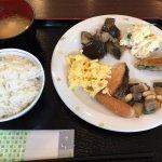 ある朝の朝食