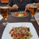 Comida riquísima y camareros encantadores