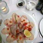 Carpaccio vom Fisch