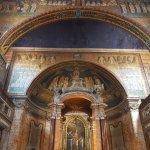 Altar and Byzantine mosaics