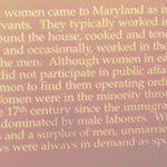 Detail of the Narrative About Women in the Colony