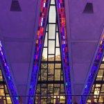 Through the chapel windows