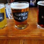 Flight of local Beers