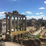 The Roman Forum. Amazing!!
