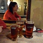 Badger beer at the Portsmouth Hoy
