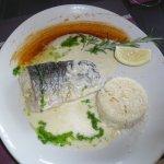 merlu et son riz