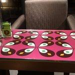 Vista interna de uma das mesas