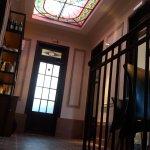 El vitral del primer piso
