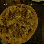 piza de banana y canela