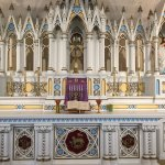 Inside St Nicholas' Chapel