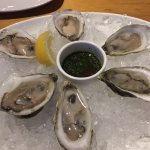 Oysters on the half shell at Joe Muer's