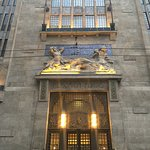 The entrance to Continental Hotel Budapest