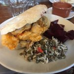 Sweet Chilli Cicken Pitta and Puy Lentil and Nutty Brown Rice Salad