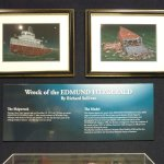 Dsiplay on wreck of Edmund Fitzgerald