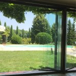 Vista dalla veranda estiva