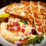 Hummus with house made Pita bread