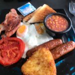 My gosh look at this English breakfast . By far the tastiest freshest on the strip. Staff where
