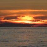 Sunset at Rockaway Beach.