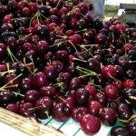 Farm fresh cherries.