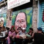 Some more of the Mahane Yehuda art gallery.