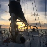 Amazing private sunset sail with Captain G Dub and Daisy! Meant to post these pics with my revie