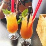 Fruchtsaft-Cocktail