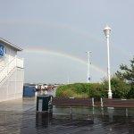 Fun even in the rain! Saw a double rainbow!