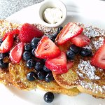 fresh fruit french toast