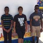 The three Kissimmee Kowboys teammates reunion