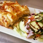 Our delicious home made pastitsio!