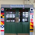 front door to Alonzo's Oyster Bar
