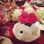 Flowery Tea Pots