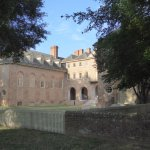 Back of Wren Hall