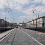 Piazza Vittorio Veneto from Ponte Vittorio Emanuelle I