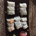 Sushi at Kampai