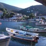 The harbour side restaurants