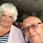 My mum enjoyed our lunch at yips😀