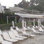 Beach bar on Agora beach