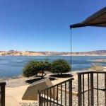overlooking San Luis reservoir at the Romero Visitors Center