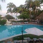 Beautiful pool right next to La Robleza.