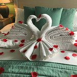 Happy 60th Wedding anniversary from Maralyn at the Headland Hotel Cottages