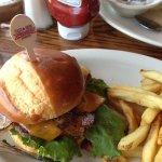 Cast-iron burger