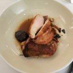 SPRING CHICKEN (local farm raised chicken, white wine, pee-wee potatoes, mushroom, thyme)