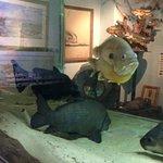 Aquarium at River Museum.