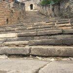 Steps are steep!