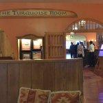 Turquoise Room inside the La Posada hotel
