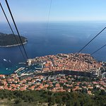 View from Dubrovnik Cable Car